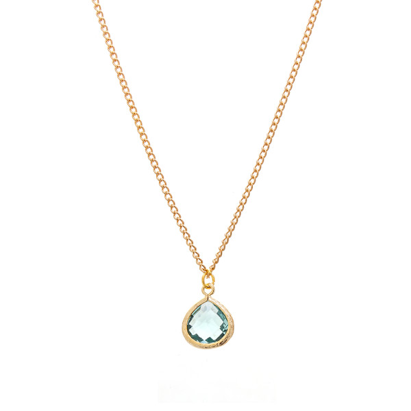 gemma bridesmaid necklace sea foam millesime