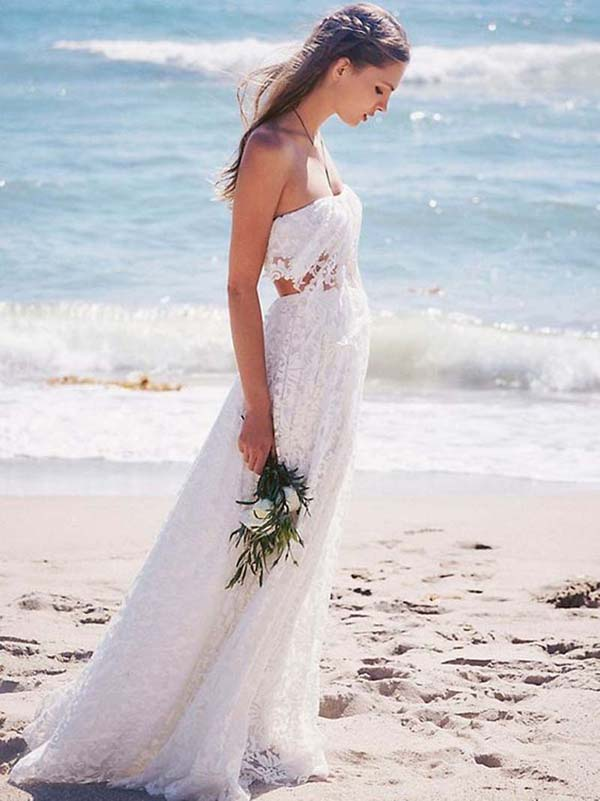 The perfect boho wedding dress and how to accessorise it for How to get a free wedding dress