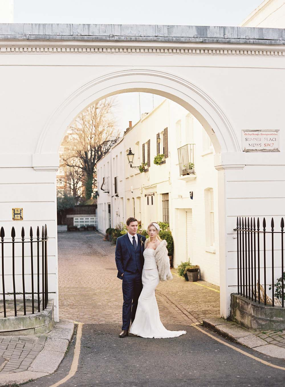 Chic london wedding