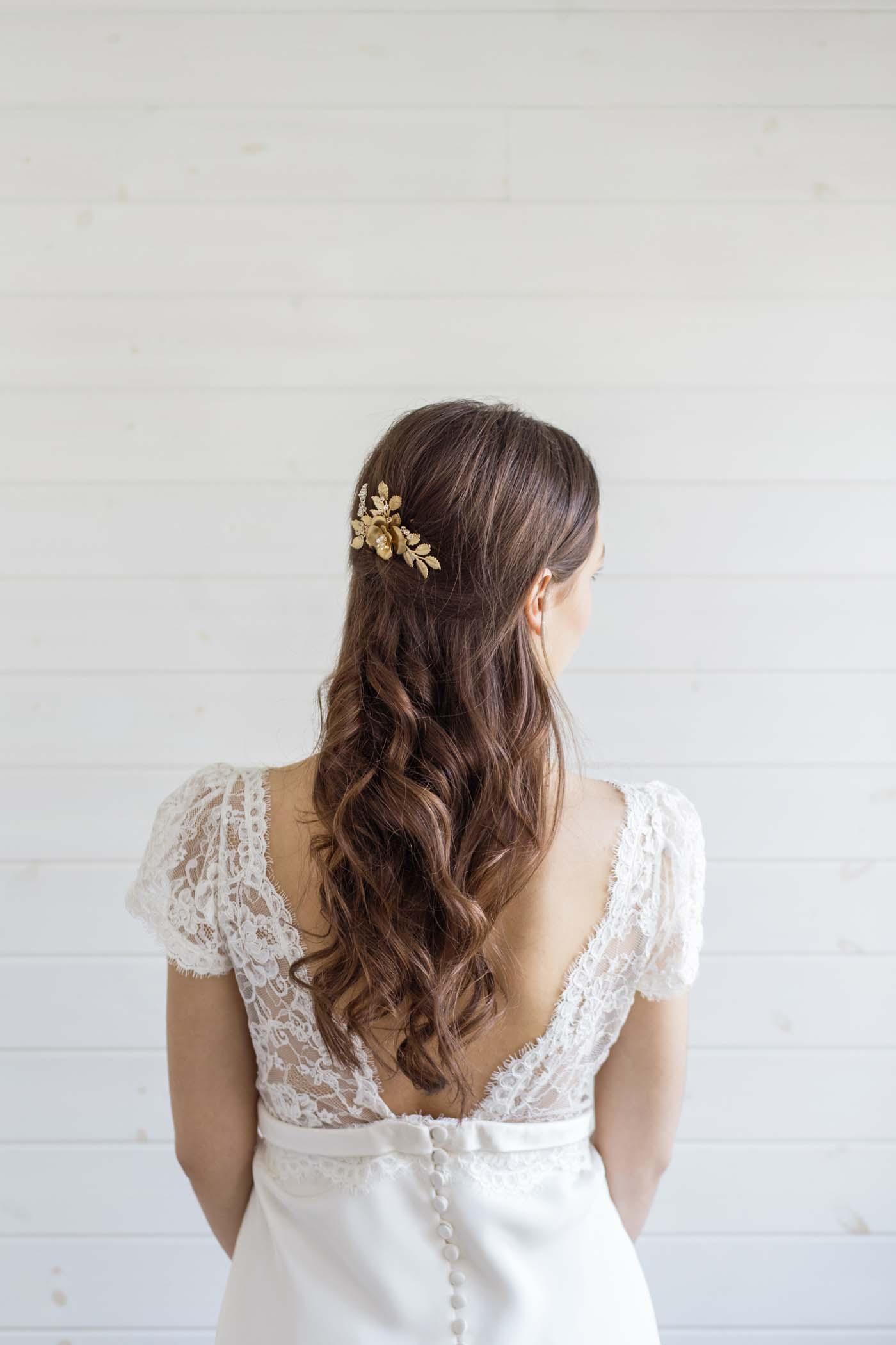 Attractive Flower Wedding Hair Pattern - The Wedding Ideas ...