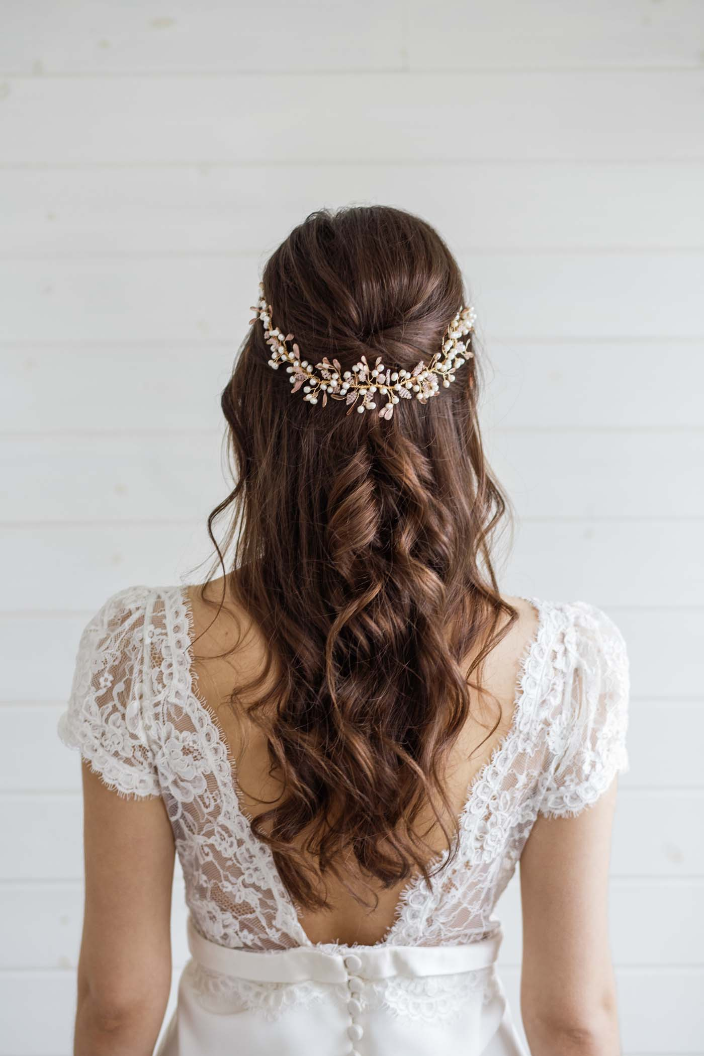 Accessory For Hair: Aster Statement Wedding Hair Vine