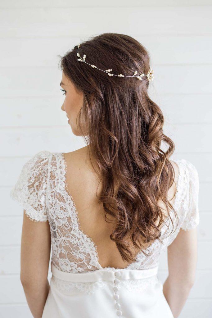 Hypericum Wedding Hair Vine